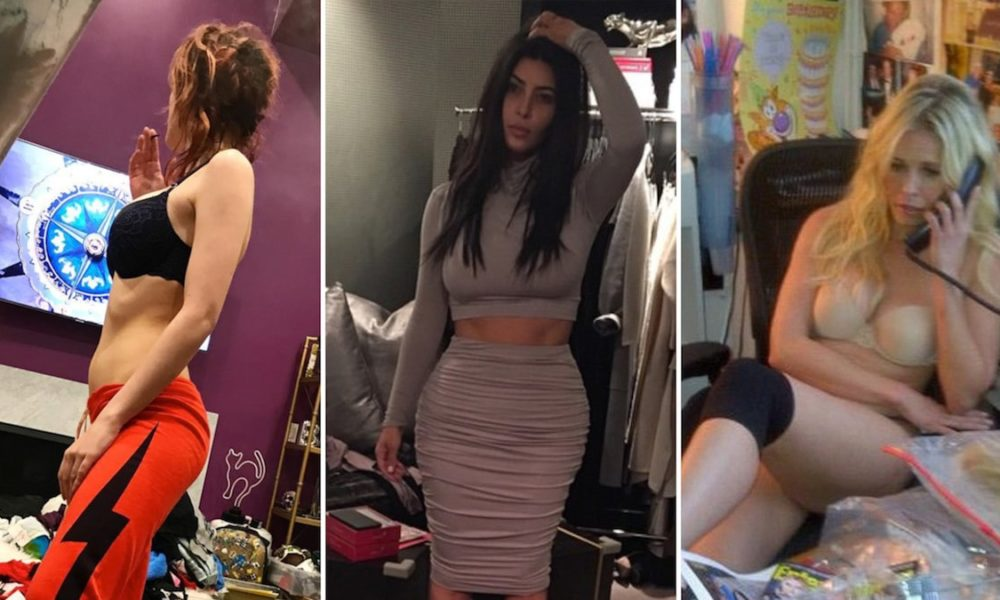 Celeb Messy Room Selfies — Time For Spring Cleansing!