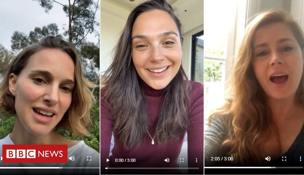 Gal Gadot, Natalie Portman and Amy Adams in superstar-studded Agree with disguise