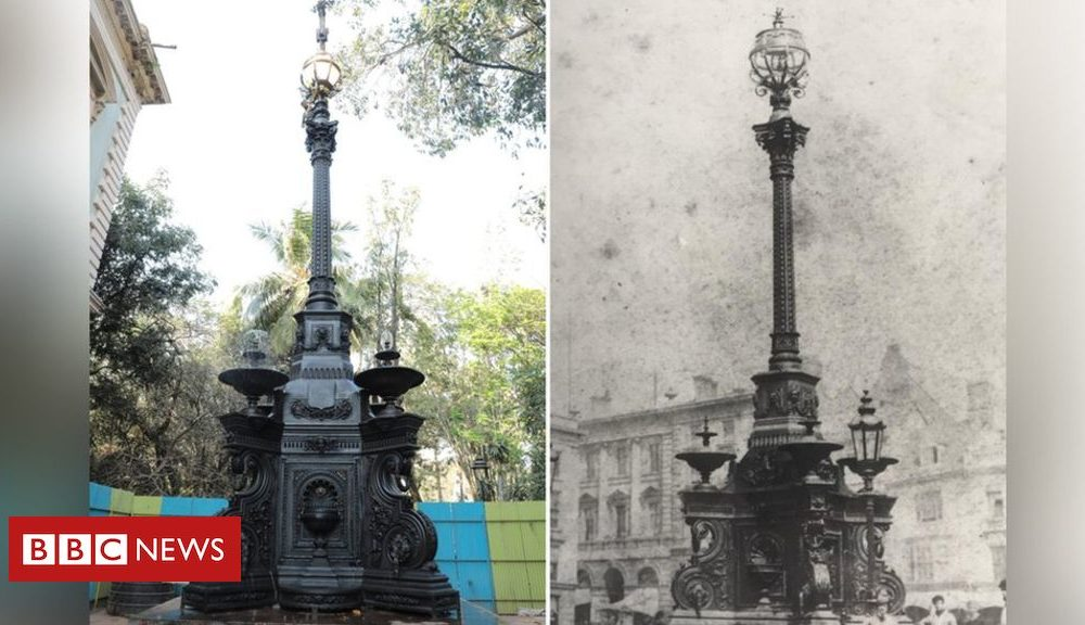 Fountain in India restored as a result of Northampton 'twin'