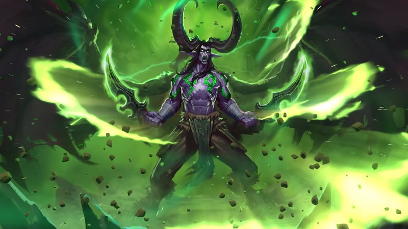 Hearthstone's novel expansion is is known as Ashes of Outland