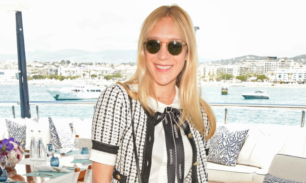 Big Outfits in Vogue History: Chloë Sevigny in Denim Cutoffs on the 2016 Cannes Film Festival