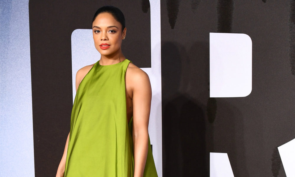 Massive Outfits in Trend Historical previous: Tessa Thompson in Voluminous Valentino