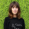 Mountainous Outfits in Vogue History: Alexa Chung in a Bella Freud Sweater and Musty Céline Skirt