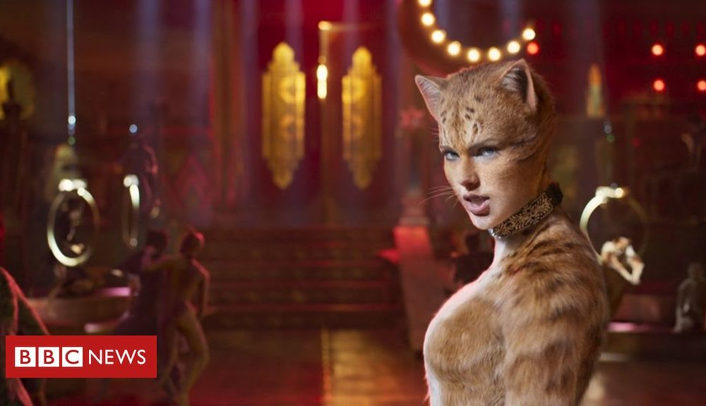 Cats movie loses giant time at the Razzie Awards