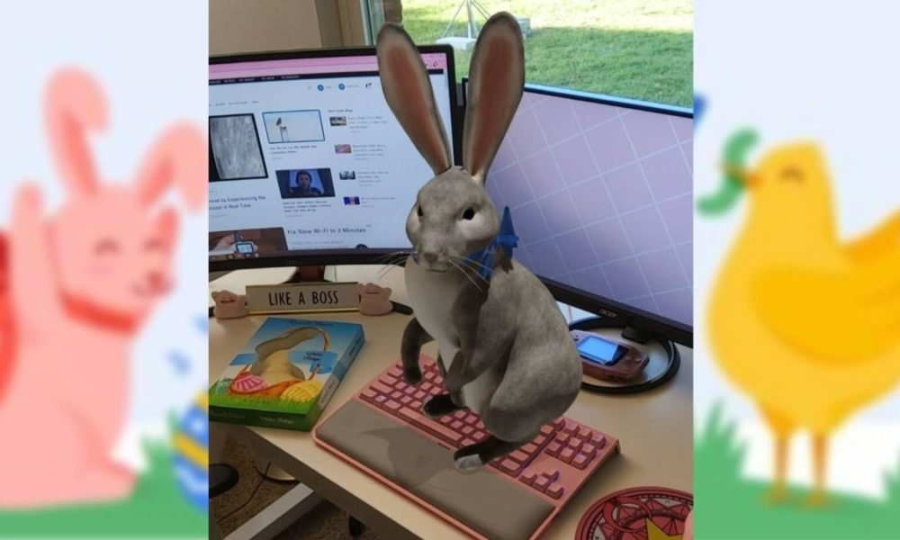 Google's AR Easter Bunny Can Quiet Seek the advice of with This Holiday Weekend, Despite the indisputable truth that You are Stuck Inner