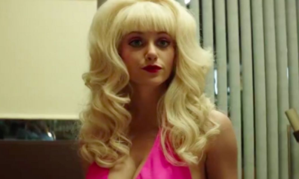 Emmy Rossum Transforms Into Mysterious LA Icon Angelyne In First Trailer