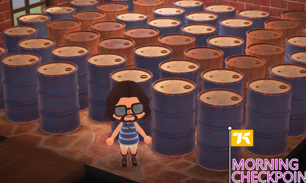 Changing into An Oil Magnate In Animal Crossing