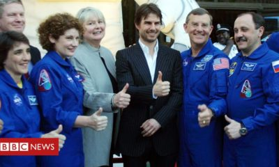 Tom Cruise and Nasa be half of forces to shoot movie in arena