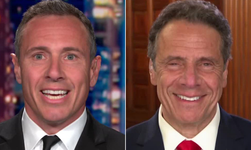 Chris Cuomo pokes fun at Andrew Cuomo's newfound superstar