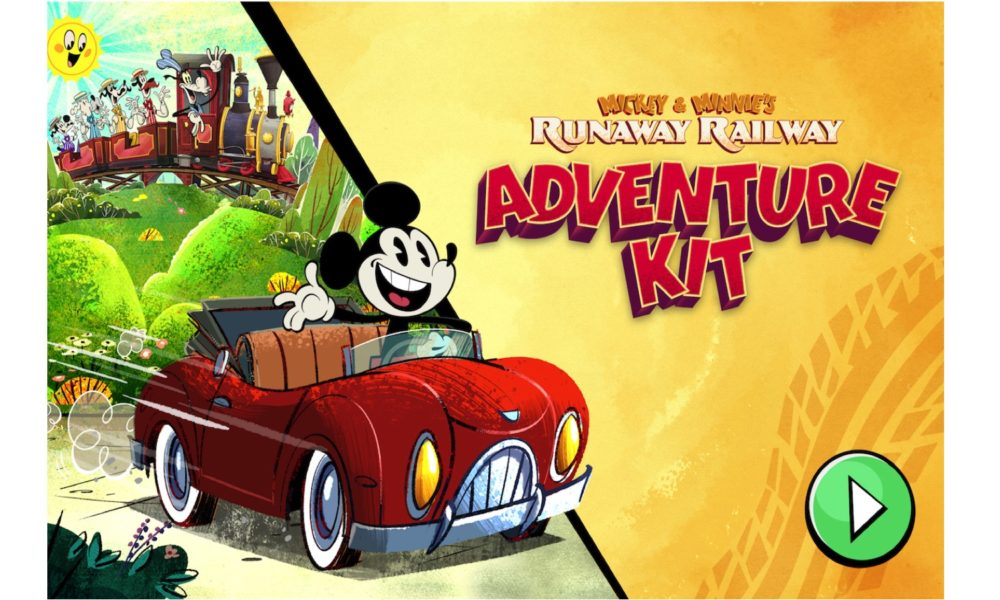 Hollywood Mickey & Minnie's Runaway Railway: Inch Kit – An All-Original Sport in DisneyNOW