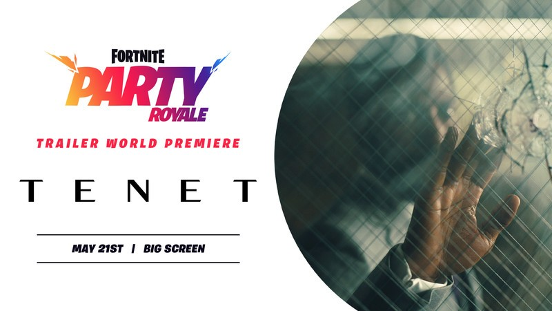 Most modern trailer for Tenet to debut in Fortnite tonight