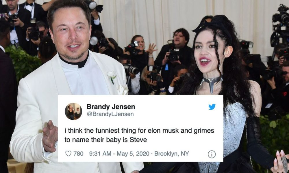 Elon Musk and Grimes named their toddler X Æ A-12 and the cyber internet reacted accordingly