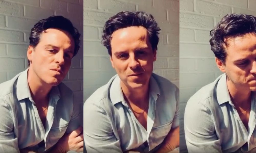 'Sizzling Priest' Andrew Scott telling you that all the pieces goes to be alright is the major viewing