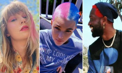 Colourful Well-known person Quarantints … Crazy Hairdos!
