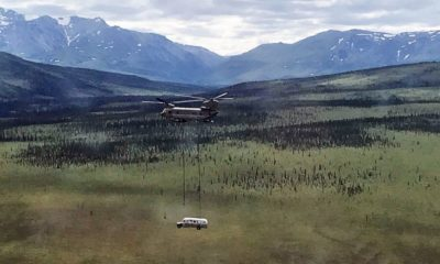 'Into the Wild' bus airlifted out of Alaskan desert on account of security concerns