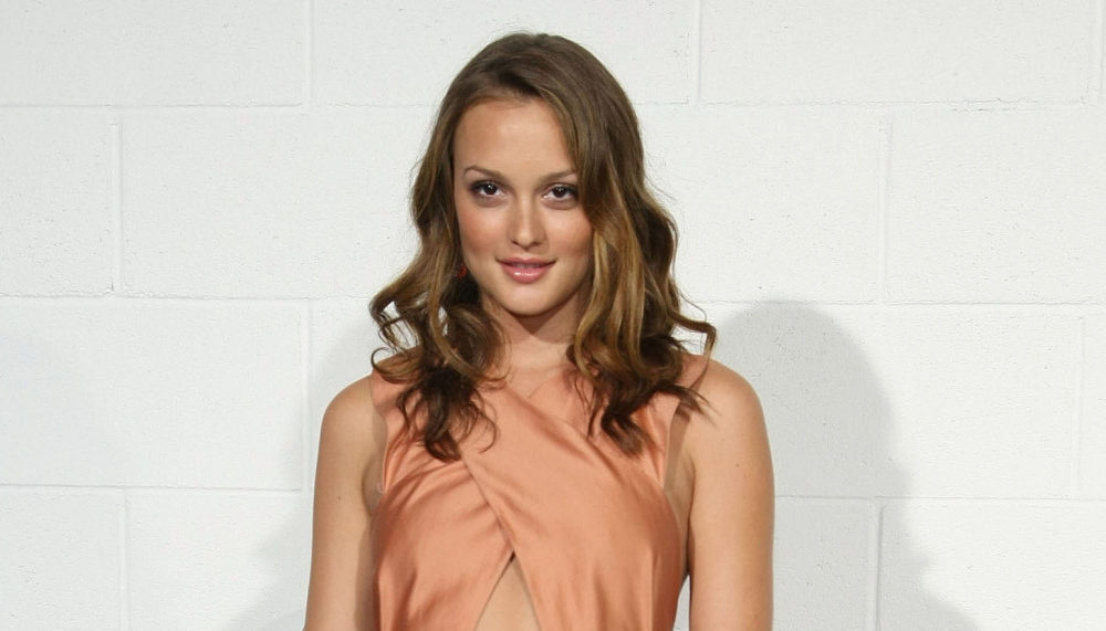 Enormous Outfits in Vogue History: Leighton Meester Is Peachy-Animated in Chloé