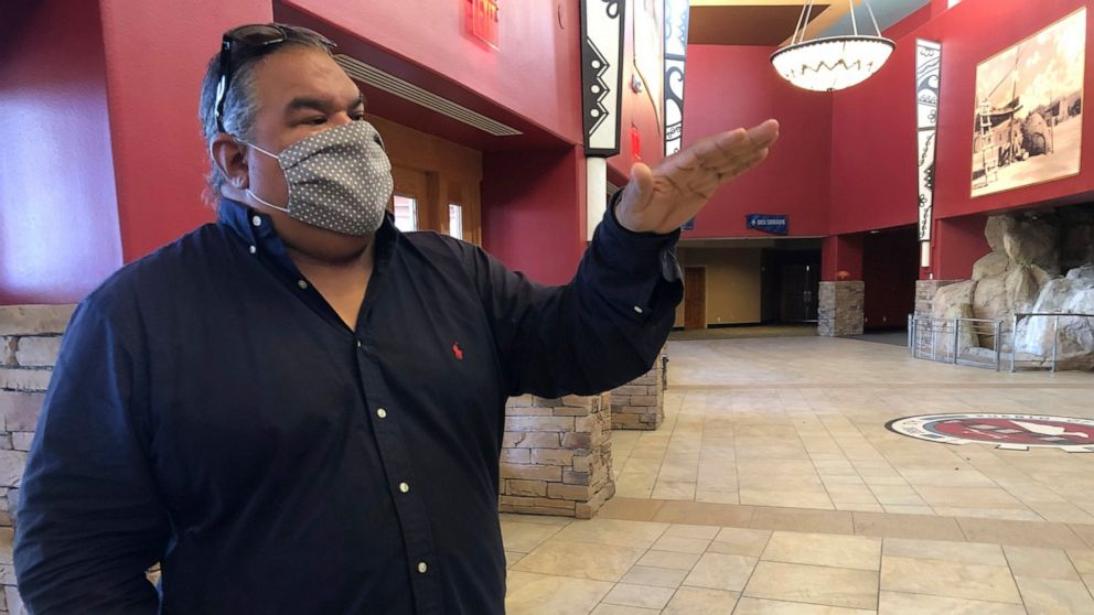 Hollywood New Mexico tribe transforms ragged casino into movie studio
