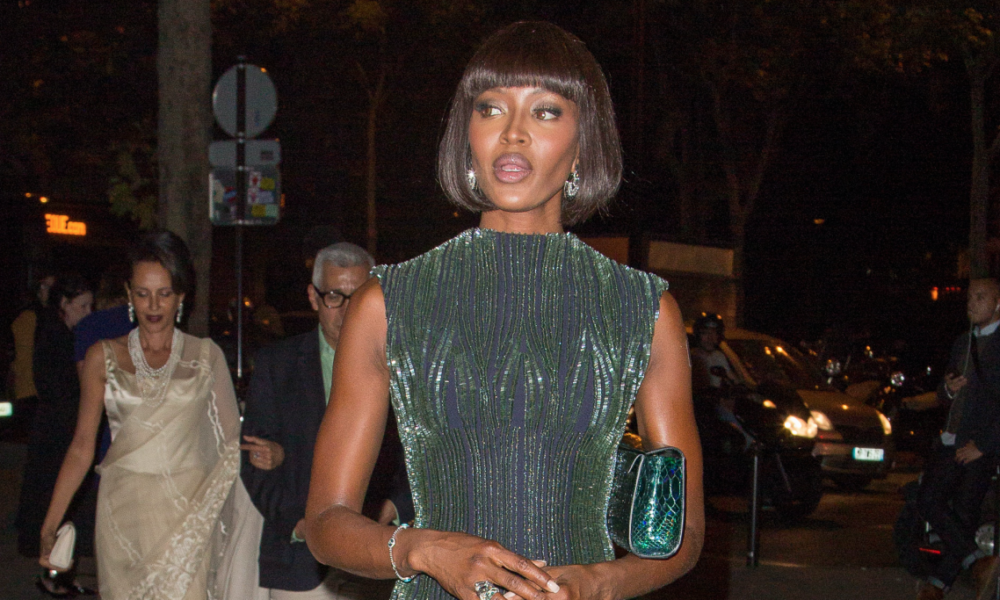 Sizable Outfits in Vogue Historic past: Naomi Campbell in Embellished Azzedine Alaïa