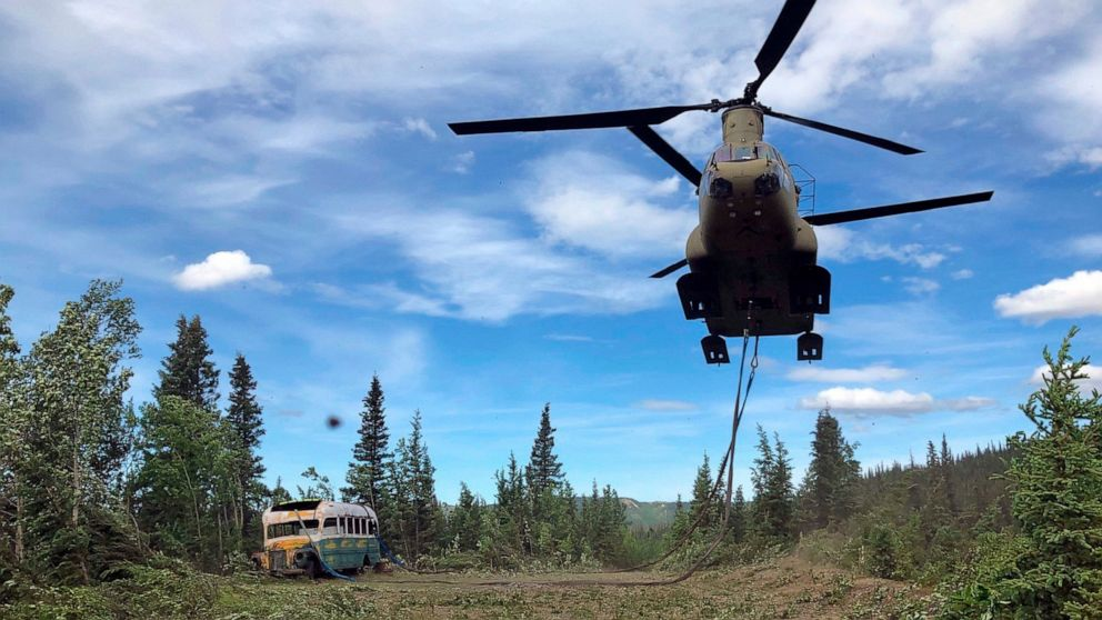 'Into the Wild' bus eliminated from Alaska backcountry