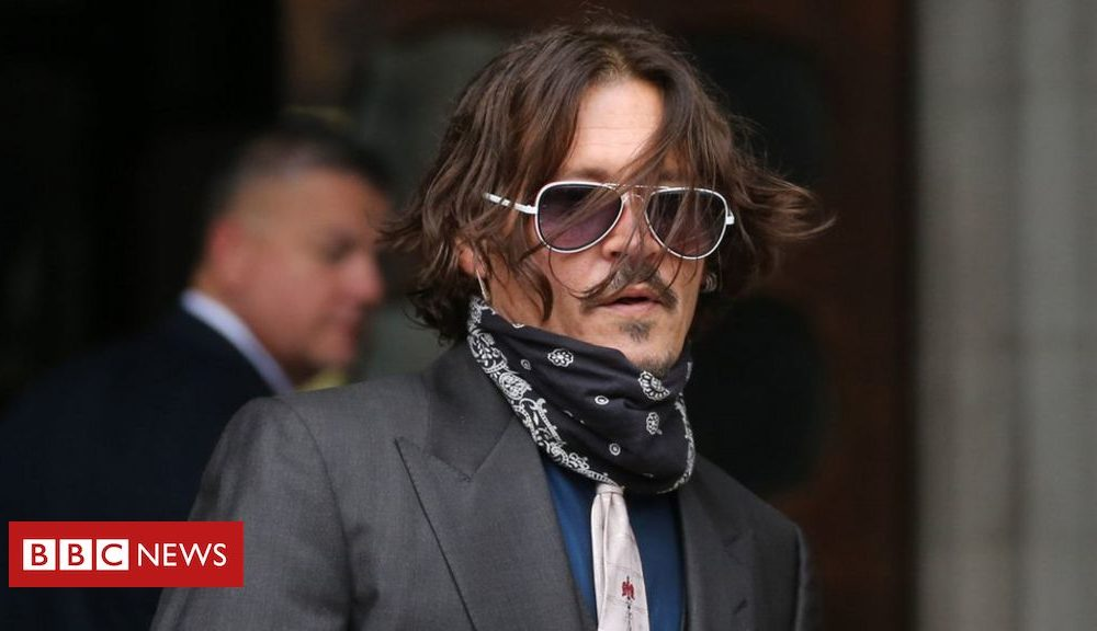 Hollywood Johnny Depp denies slapping ex-partner for laughing at his tattoos