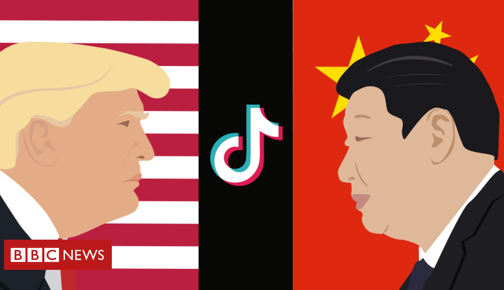TikTok: How app acquired caught up in the US-China clash
