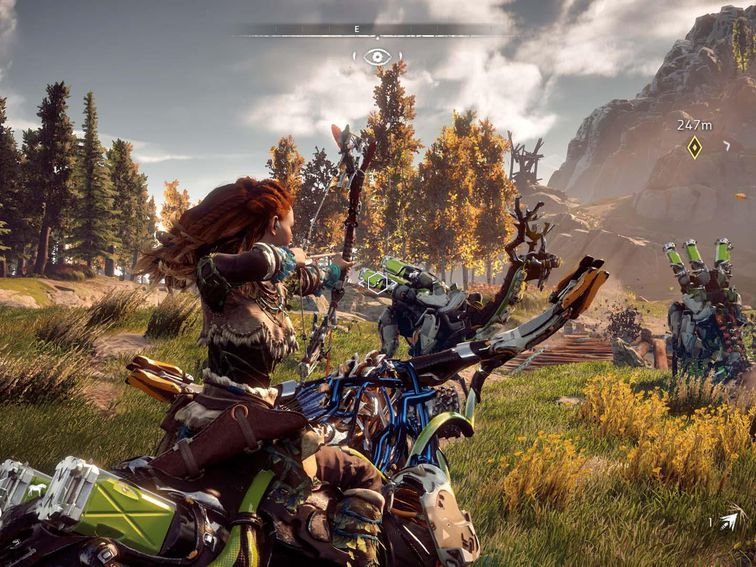 Horizon Zero Dawn hits PC on Aug. 7 – CNET