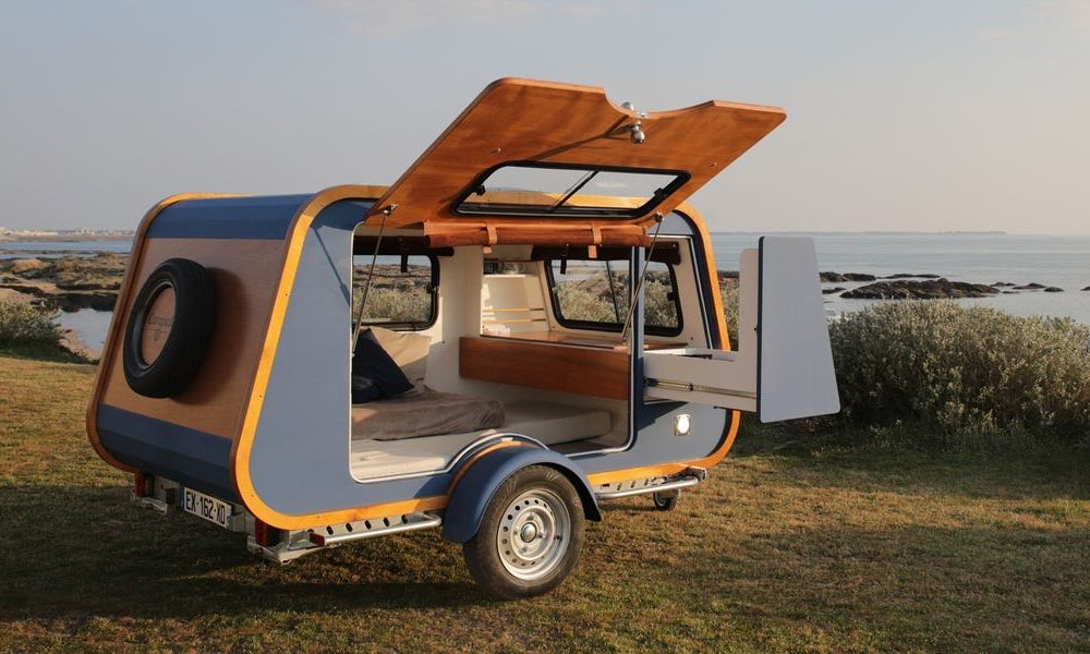 This $16,522 teardrop-inspired retro shuttle trailer can double in tag with all available customizations —ogle within