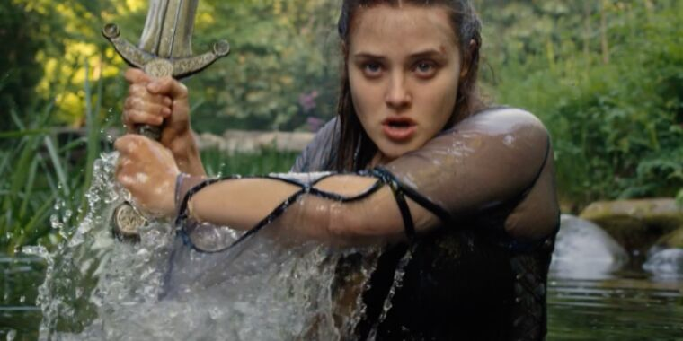 Cursed trailer reimagines Arthurian legend from viewpoint of Lady of the Lake