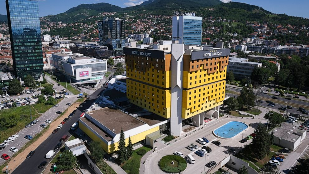 Sarajevo's landmark resort faces exhausting times amid pandemic