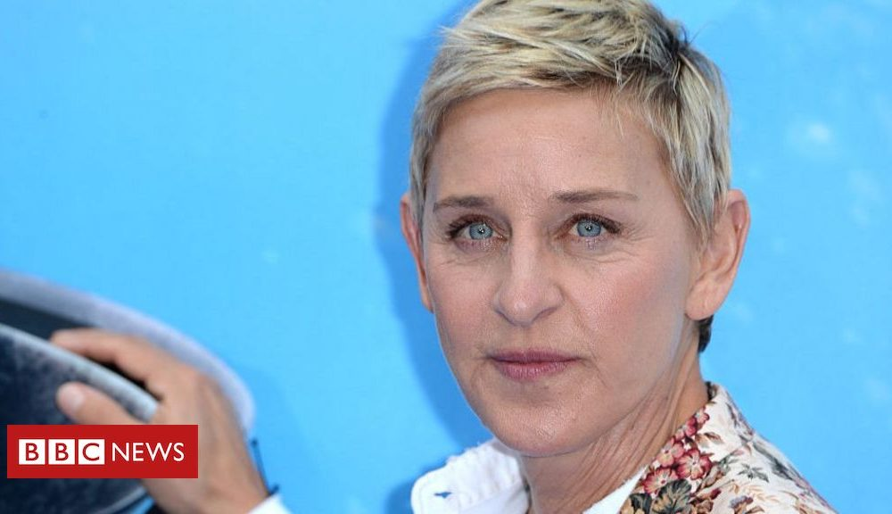 Hollywood Ellen DeGeneres apologises to workers over 'toxic' put of business