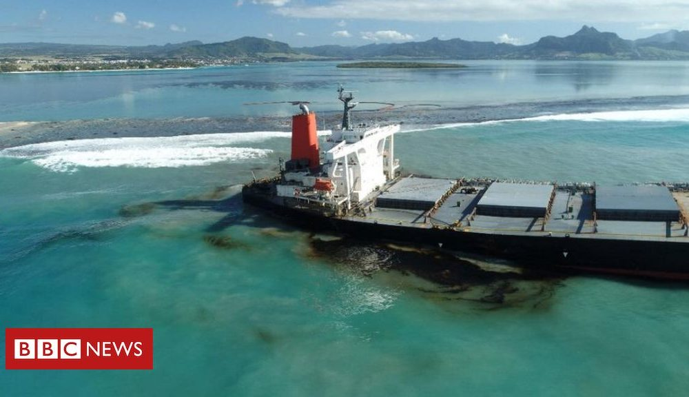 Why the Mauritius oil spill is so severe