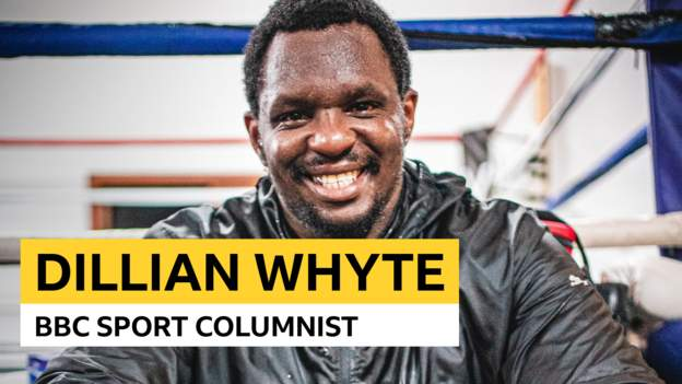Dillian Whyte's boxing column: Howling love a werewolf, rising up in Jamaica & a cook dinner-off against Eddie Hearn