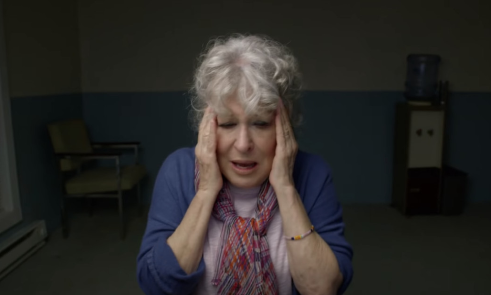 Bette Midler is in jail in this remotely shot HBO film