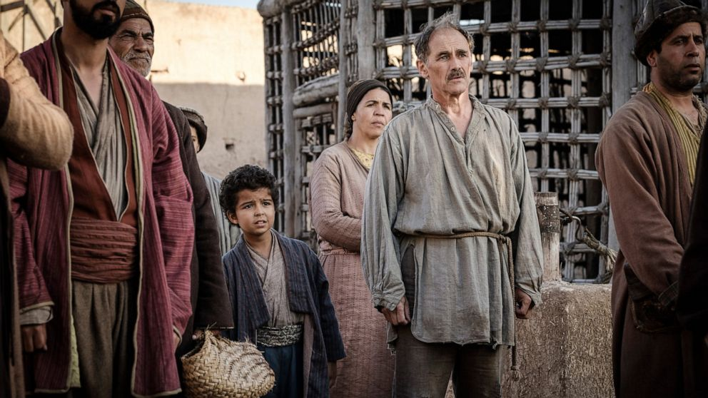 Overview: A good Rylance lifts up languorous 'Barbarians'