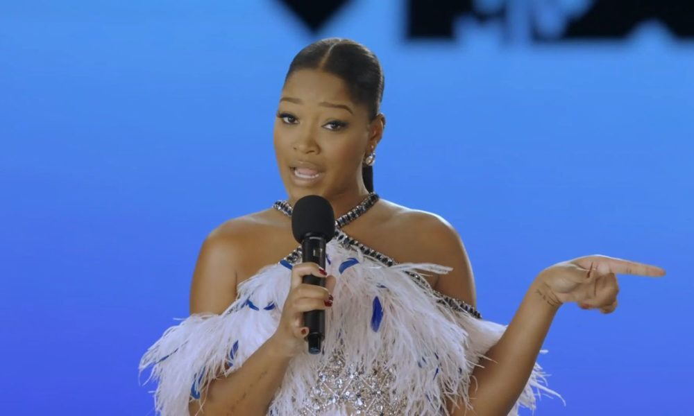 Keke Palmer Kicks Off VMAs With Empowering Speech: 'It's Our Time To Be The Change'