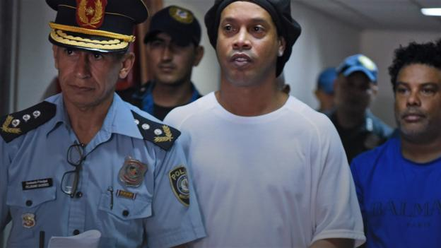 Hollywood Ronaldinho: Brazilian wide title's decline from Barcelona greatness to Paraguay penal advanced