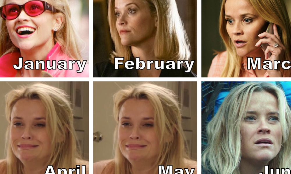 The film necessary individual COVID calendar meme is here and it is bleak as hell