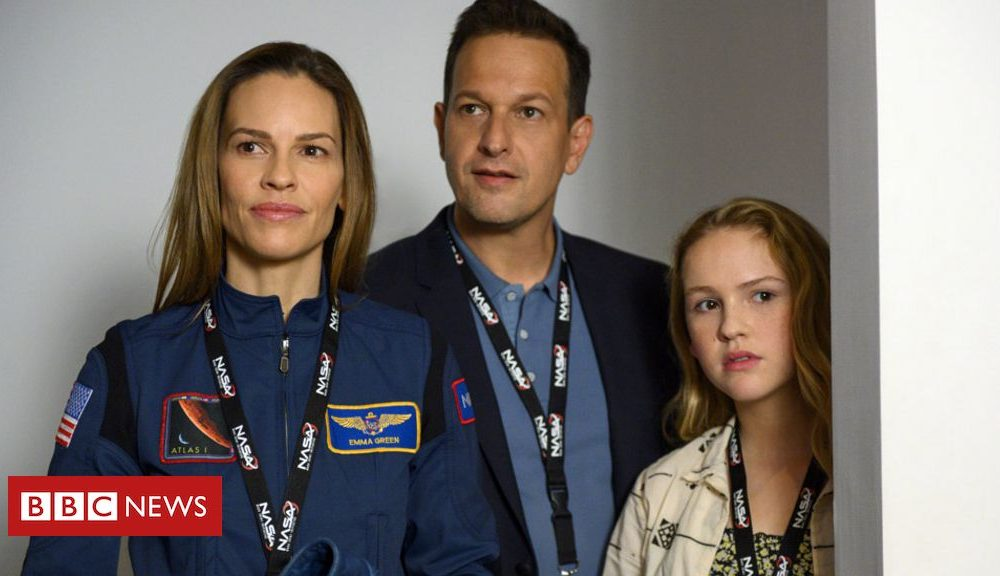 Hilary Swank on Netflix's sci-fi Away and the final work-existence dilemma