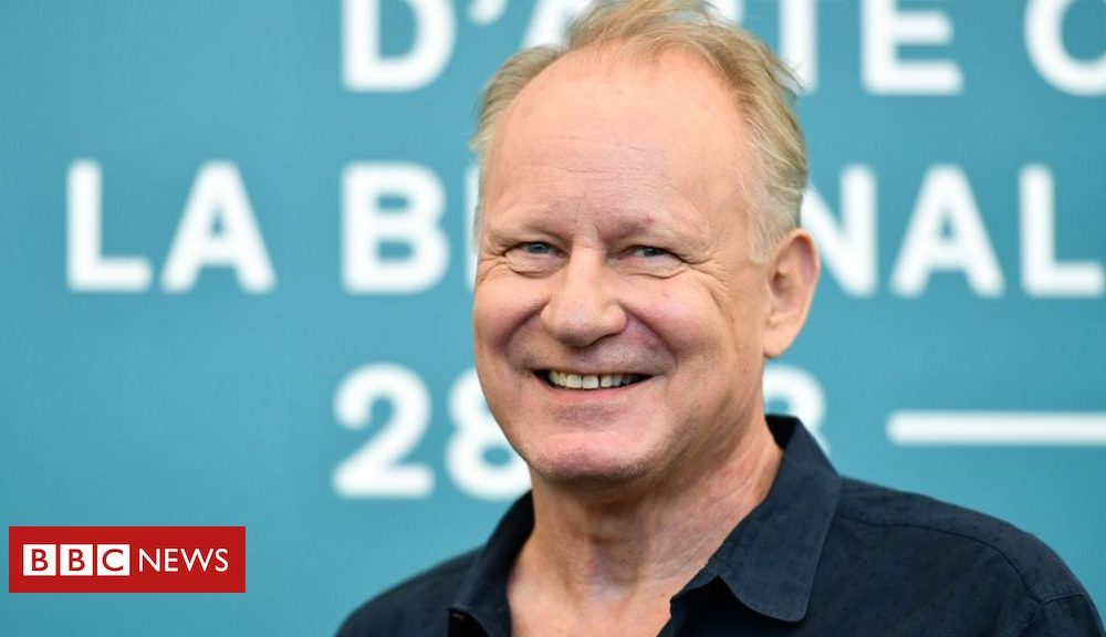 Hollywood The Painted Chicken: Stellan Skarsgård on the film's 'brutal violence'