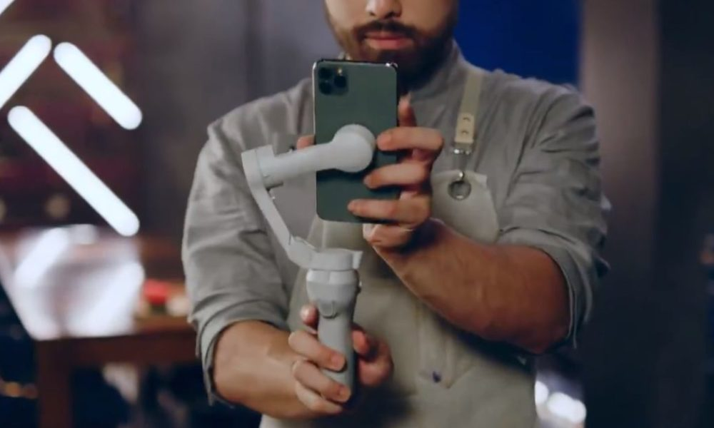 DJI Osmo Mobile 4 leaks with convenient magnetic immediate mounts
