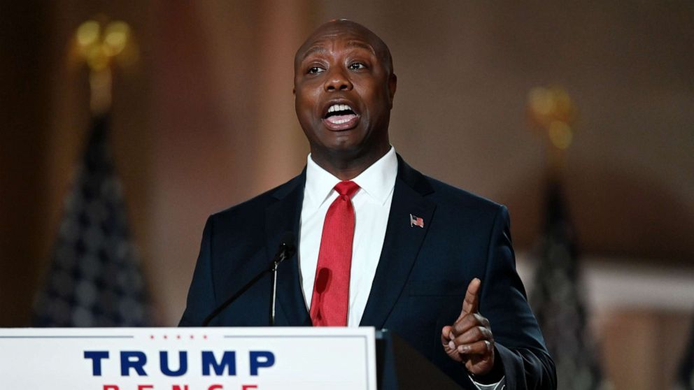 Hollywood Sen. Tim Scott's RNC keynote speech touches on 'promise of the American creep'