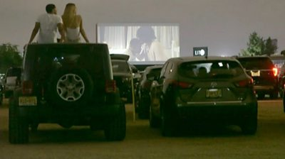 Why this murky drive-in cinema is booming