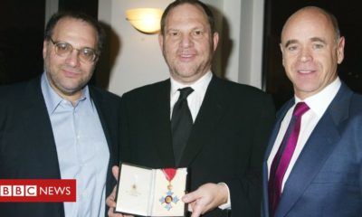 Harvey Weinstein: Jailed movie producer stripped of honorary CBE