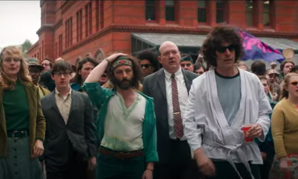 Your entire world is searching at within the trailer for Netflix's 'The Trial Of The Chicago 7'