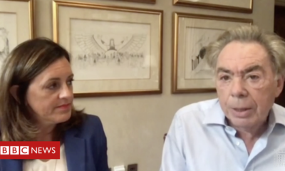 Andrew Lloyd Webber warns the arts are at 'level of no return'