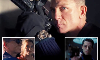 James Bond No Time To Die: Breathtaking original trailer as Daniel Craig returns for his ideal time out as 007 – The Solar